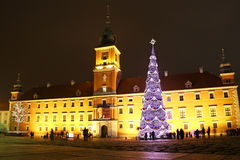Christmas in Warsaw Stock Image