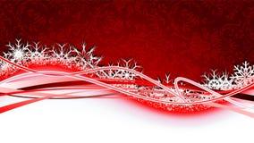 Christmas wave Stock Photo