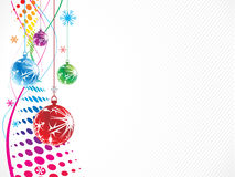 Christmas wave halftone background Stock Image