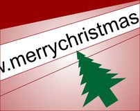 Christmas web Royalty Free Stock Photography