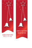 Christmas web banners Stock Photo