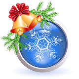 Christmas web button Stock Photo