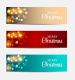 Christmas Website Banner and Card Background Royalty Free Stock Photo