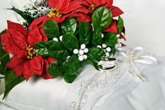 Christmas Wedding Royalty Free Stock Photography
