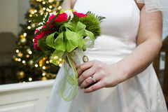 Christmas wedding Royalty Free Stock Images