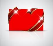 Christmas or wedding card Royalty Free Stock Photography