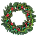 Christmas Welcome Decoration Royalty Free Stock Image