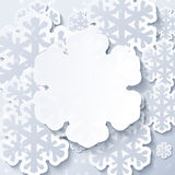 Christmas white abstract background Royalty Free Stock Photography