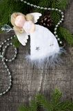 Christmas white angel Royalty Free Stock Photos