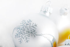 Christmas white background Stock Photos