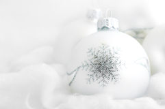 Christmas white background Royalty Free Stock Photo
