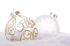Christmas white background Royalty Free Stock Photography