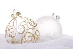 Christmas white background Royalty Free Stock Photography