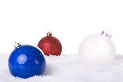 Christmas white background Stock Photos