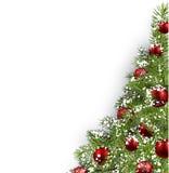 Christmas white background royalty free illustration