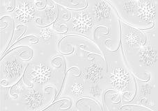 Christmas White Decoration Stock Photos