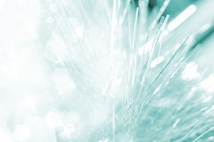 Christmas white tinsel  background blue color effects Royalty Free Stock Image