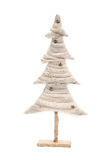 Christmas white tree Royalty Free Stock Photos