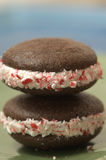 Christmas Whoopie Pies Royalty Free Stock Photo