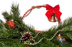 Free Christmas Wicker Basket Stock Photography - 27421232