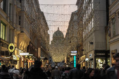 Christmas in Wien stock photography