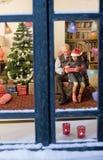 Christmas window Royalty Free Stock Photo