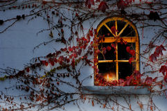 Christmas Window Royalty Free Stock Image