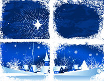 Christmas window. royalty free illustration