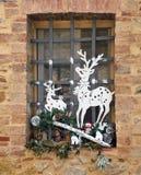 Christmas window Stock Photography