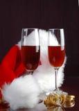 Christmas Wine Royalty Free Stock Photos