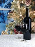 Christmas Wine Royalty Free Stock Photo