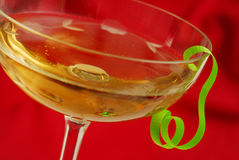 Christmas wine Royalty Free Stock Image