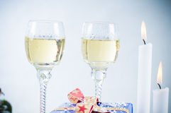 Christmas Wine Royalty Free Stock Images