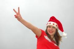 Christmas winner stock images
