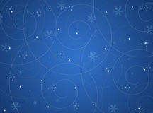 Christmas winter abstract background Stock Photo