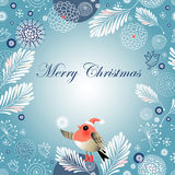Christmas winter background Stock Images