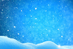 Christmas winter background Royalty Free Stock Image