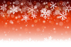 Christmas winter background Stock Photos