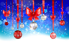 Christmas winter background Stock Photo