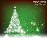 Christmas winter background Stock Image