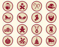 Christmas, winter Badge and Design Elements  Royalty Free Stock Image