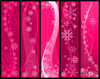 Christmas and winter banners Royalty Free Stock Image