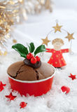 Christmas Winter Cake Stock Images