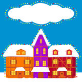 Christmas,winter card Royalty Free Stock Images