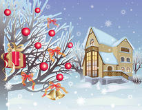 Christmas is in the winter garden