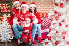 Christmas winter holiday concept Stock Images