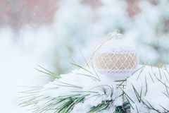 Christmas winter holiday greeting card royalty free stock photos