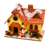 Christmas winter house Royalty Free Stock Photography