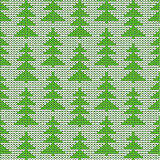 Christmas, winter or New Year knitted background Stock Photo