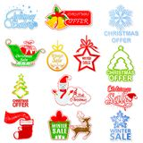 Christmas and Winter Sale Royalty Free Stock Image